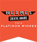 Hermes Creative Awards. 2016 Platinum Winner.